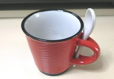 スプーン付きカップ