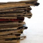【掃除・片づけ】新聞紙の活用法
